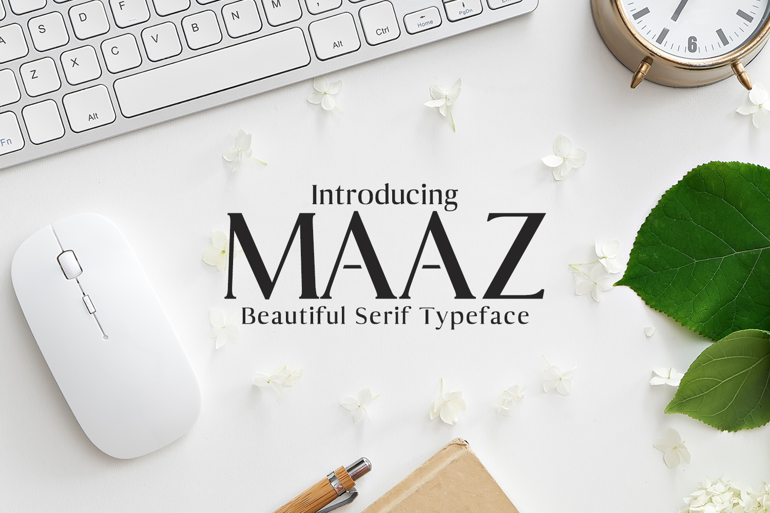 Maaz Serif 6 Fonts Family Pack example image 1