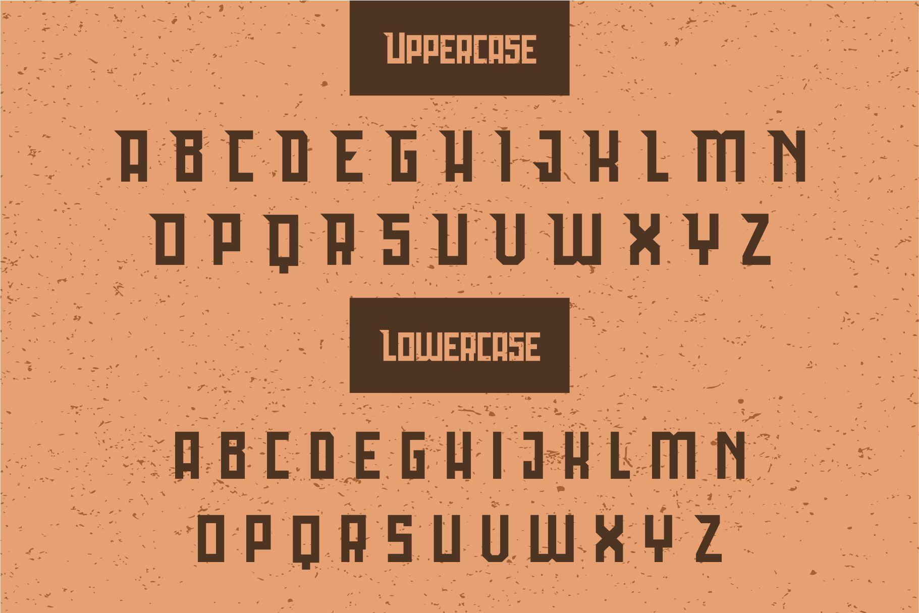 Bedebah Typeface example image 2