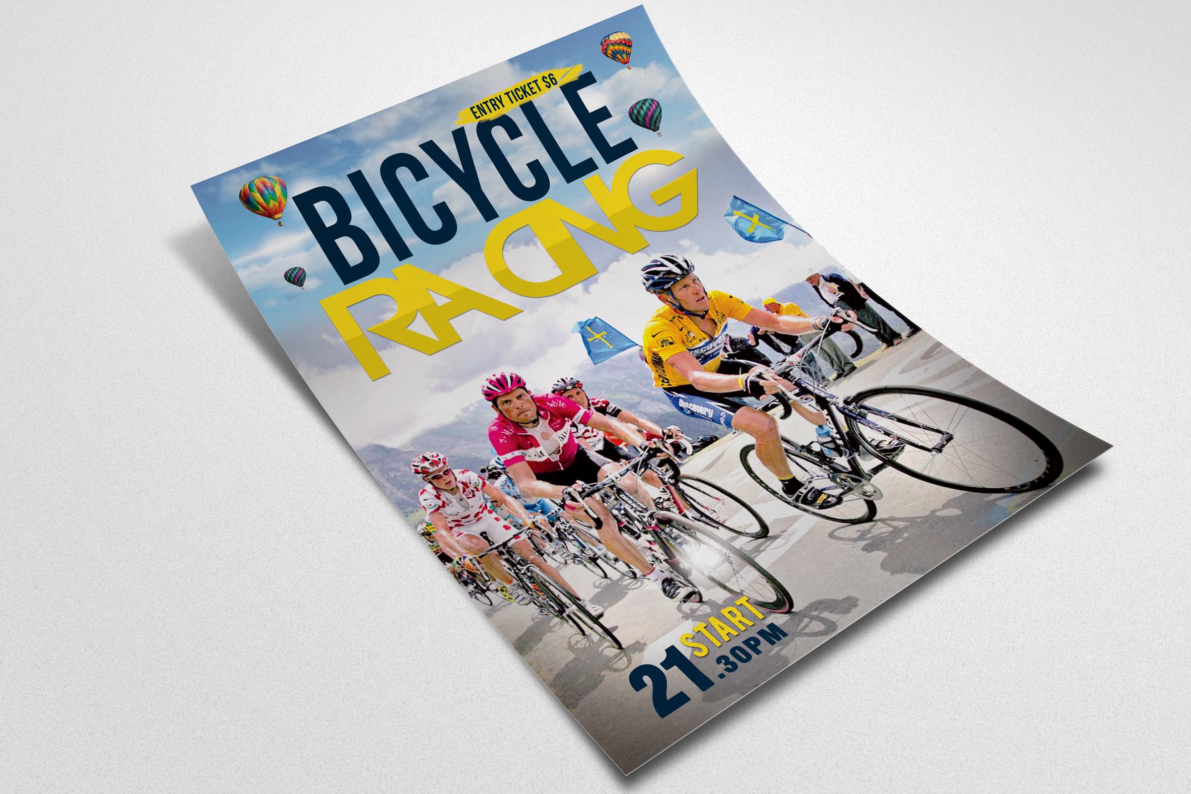 Bicycle Racing Flyer Templates example image 2