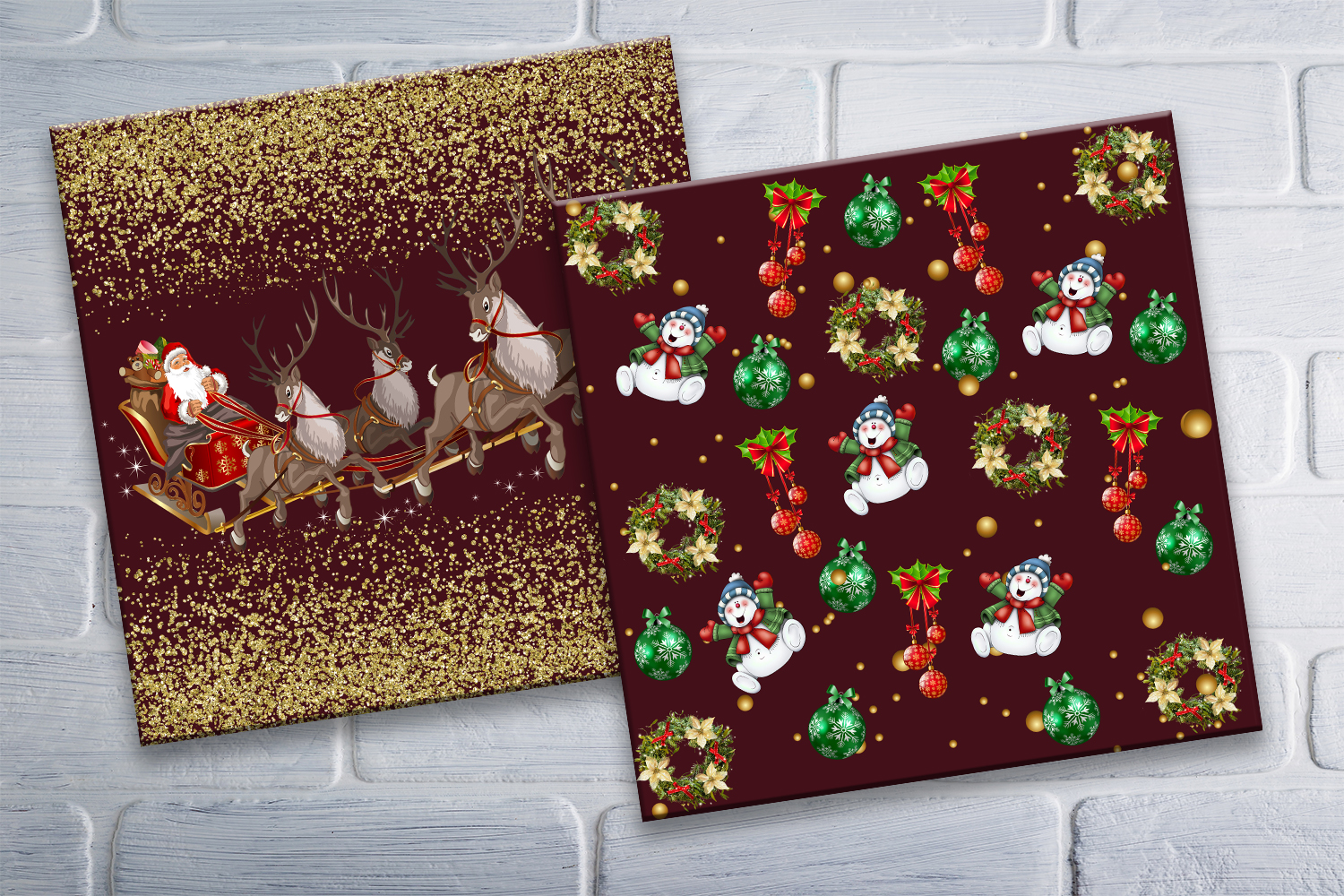 Christmas, Christmas Scrpabook, Scrapbooking, BLACK FRIDAY example image 4