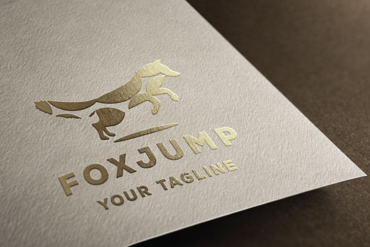 Fox Animal Logo Design example image 2