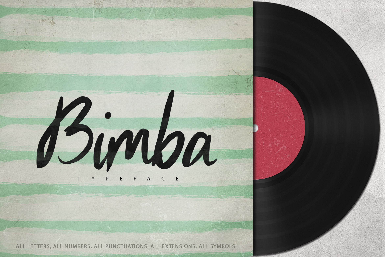 Bimba Typeface example image 1