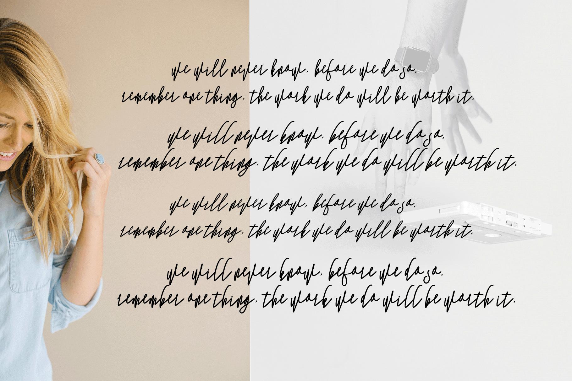 Monica -10 Elegant Font example image 11