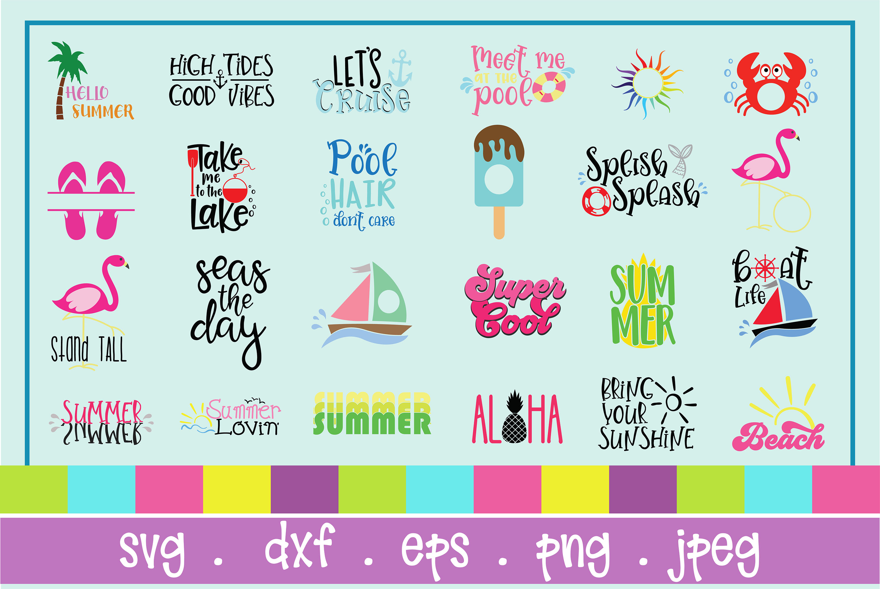 The Huge SVG Bundle Vol 2, 500 Cutting files, SVG, DXF,PNG example image 14