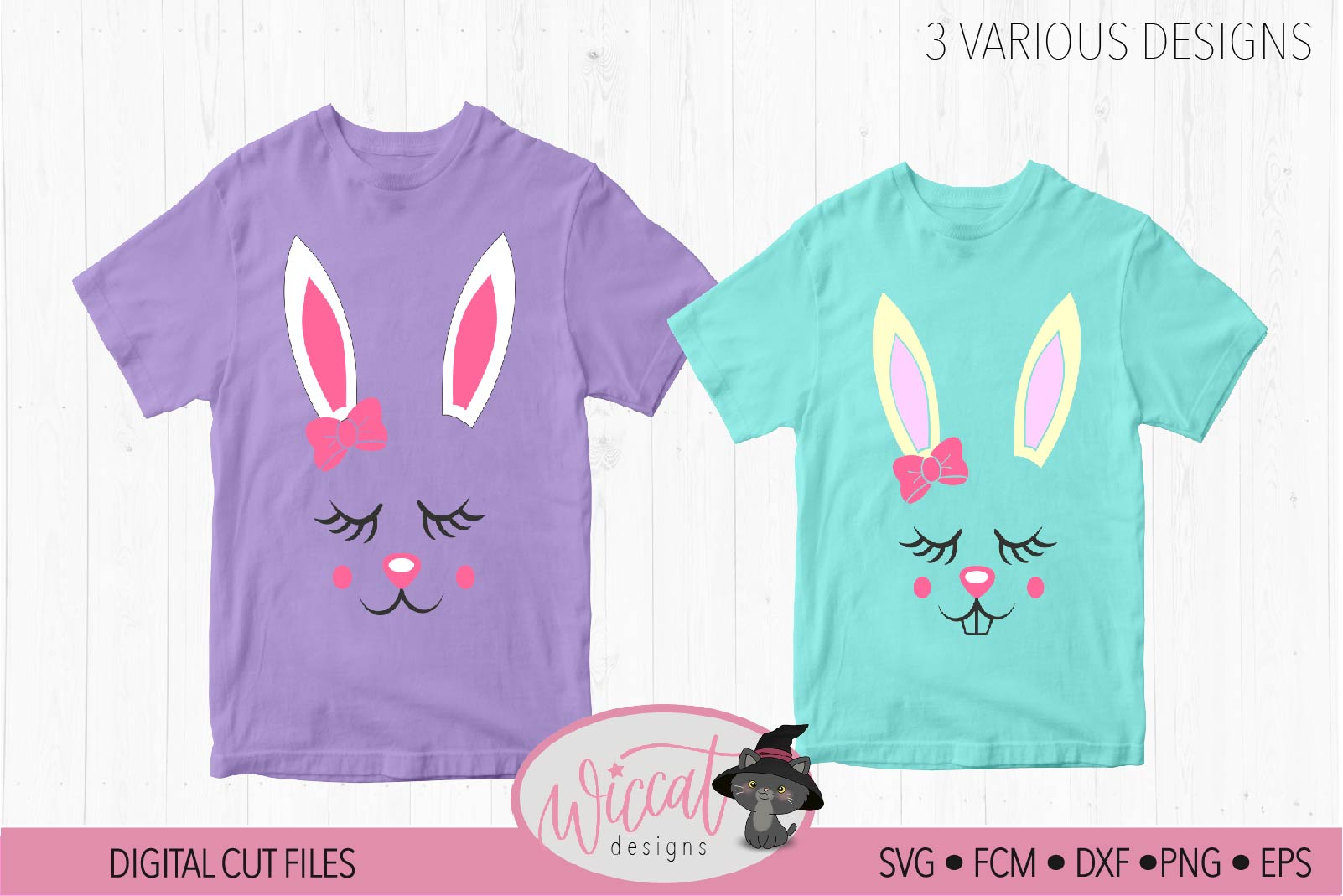 Easter bunny, Bunny svg, Bunny face svg, Girl bunny face svg example image 2