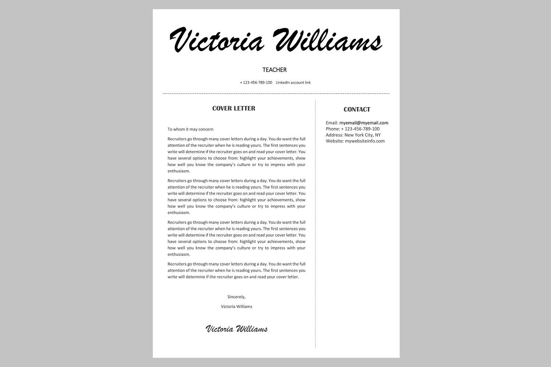 creative resume template cv bundle offer example image 16