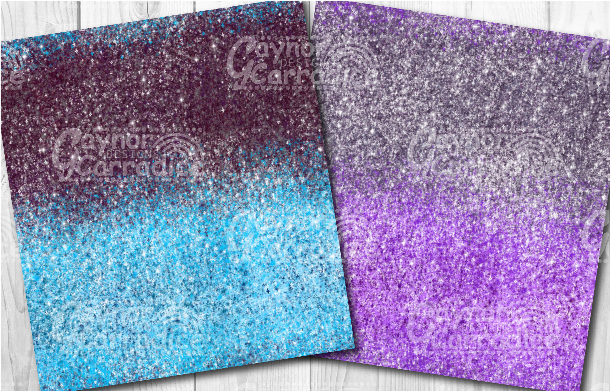 Ombre glitter collection example image 2