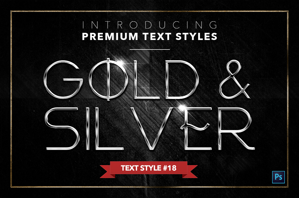 Gold & Silver #4 - 20 Text Styles example image 7