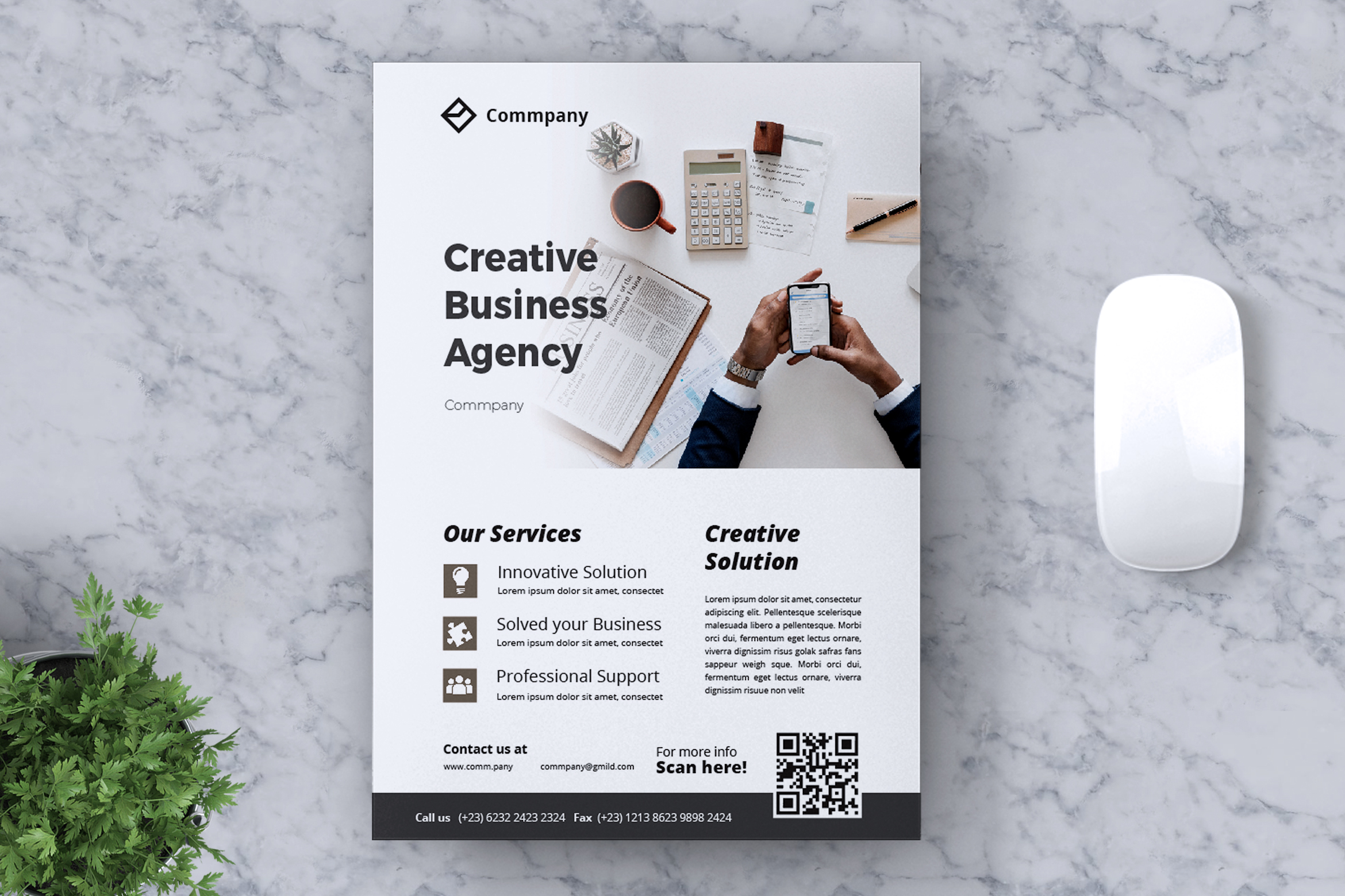 Corporate Business Flyer Vol. 13 example image 1