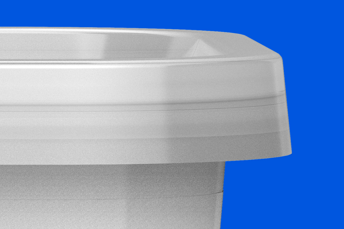 Plastic Container Mockup 200g example image 4