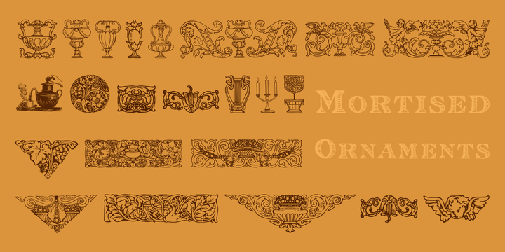 Mirella, Volstead and Mortised Ornaments Licenced pack example image 8