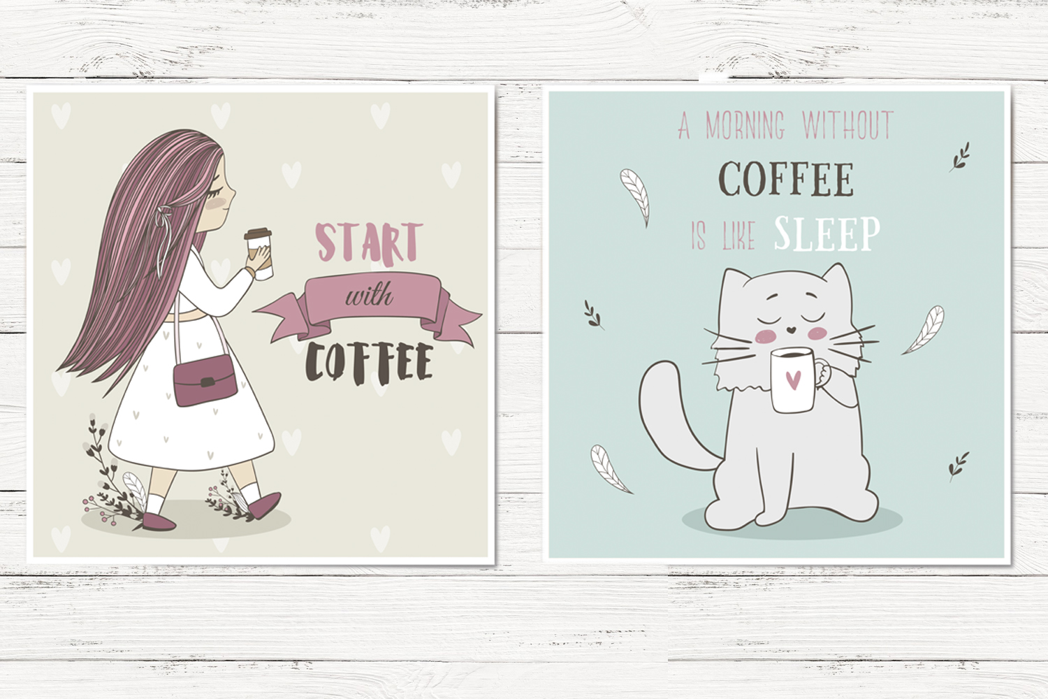 Cute coffee clipart example image 3