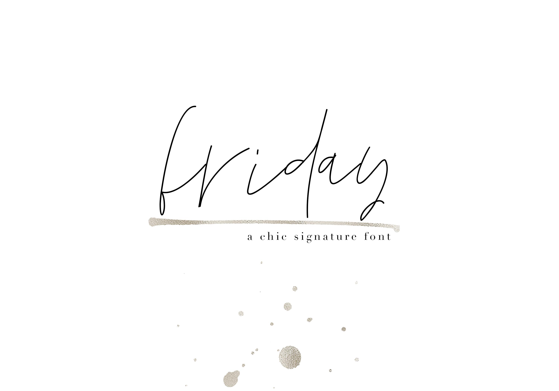 KA Designs Handwritten Font Bundle - 50 Fonts! example image 20
