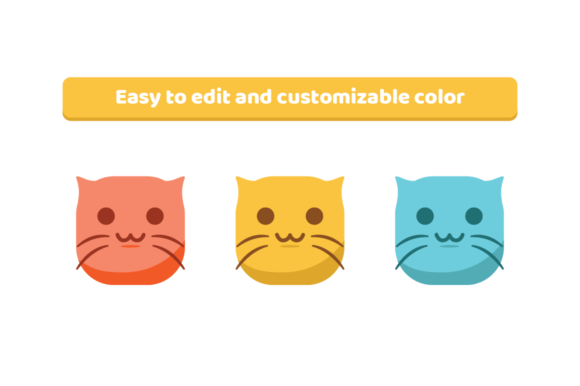 Cute Cat Emojis example image 2