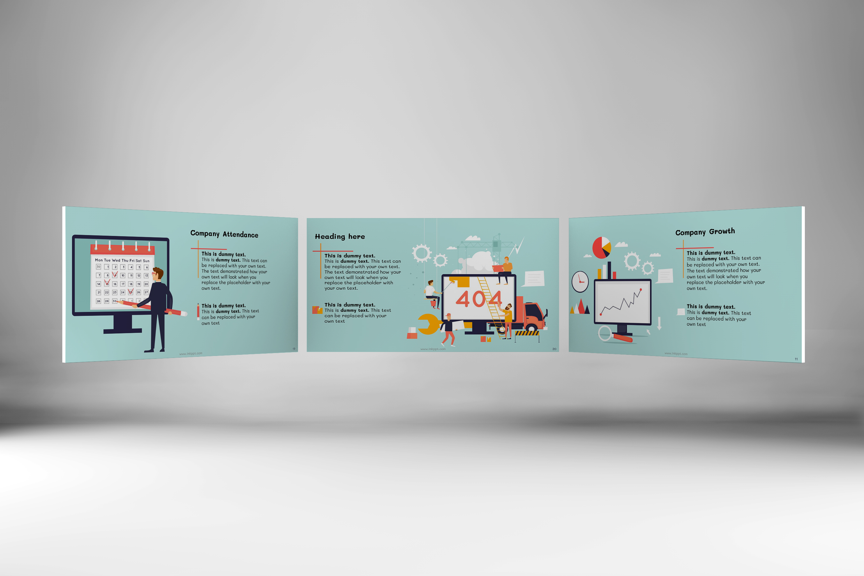 Corporate Functions PowerPoint Template example image 2