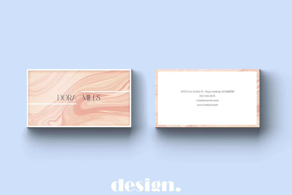Elegant Business Card Template example image 3