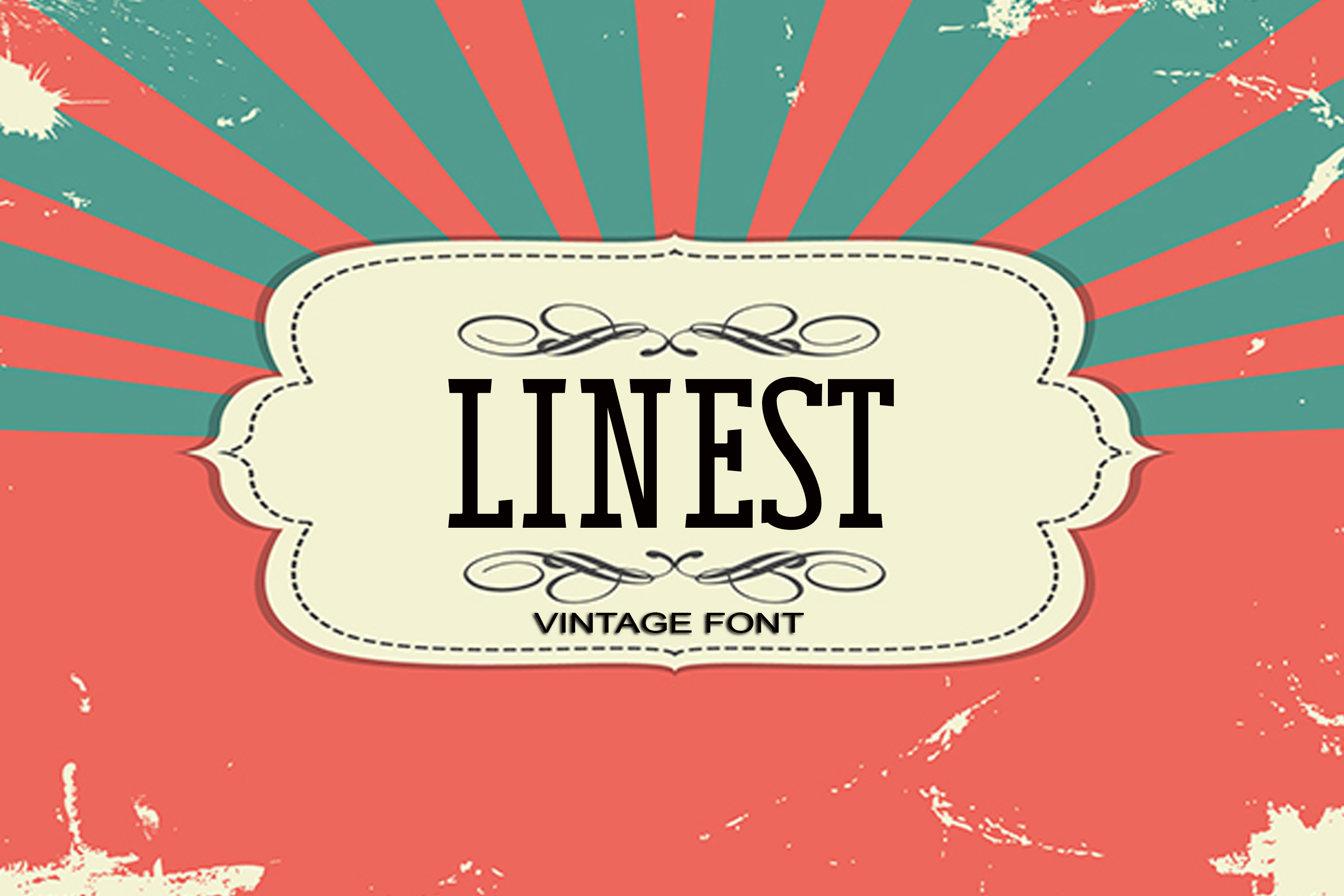 Linest Font example image 1