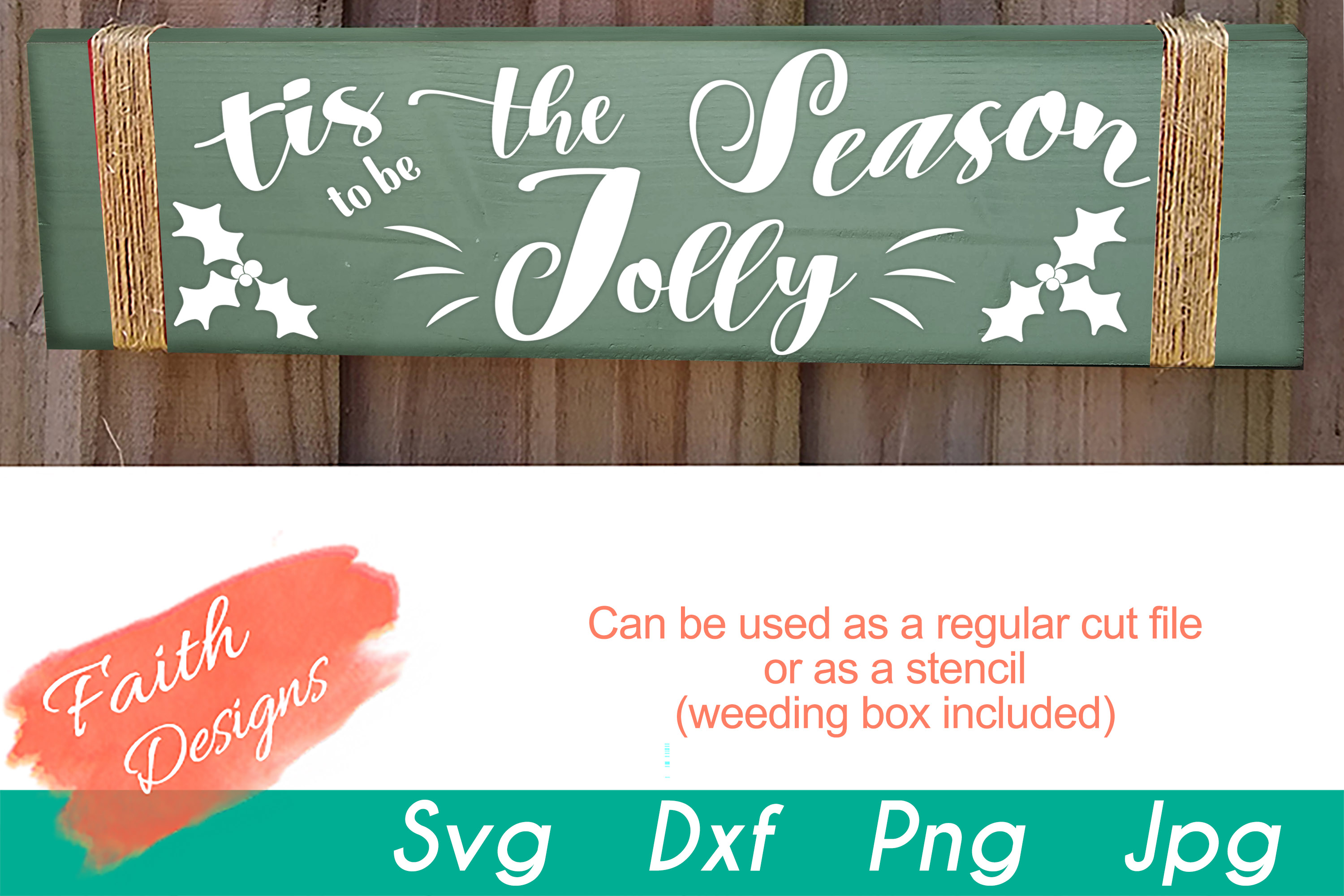 Christmas Porch Sign Bundle example image 15
