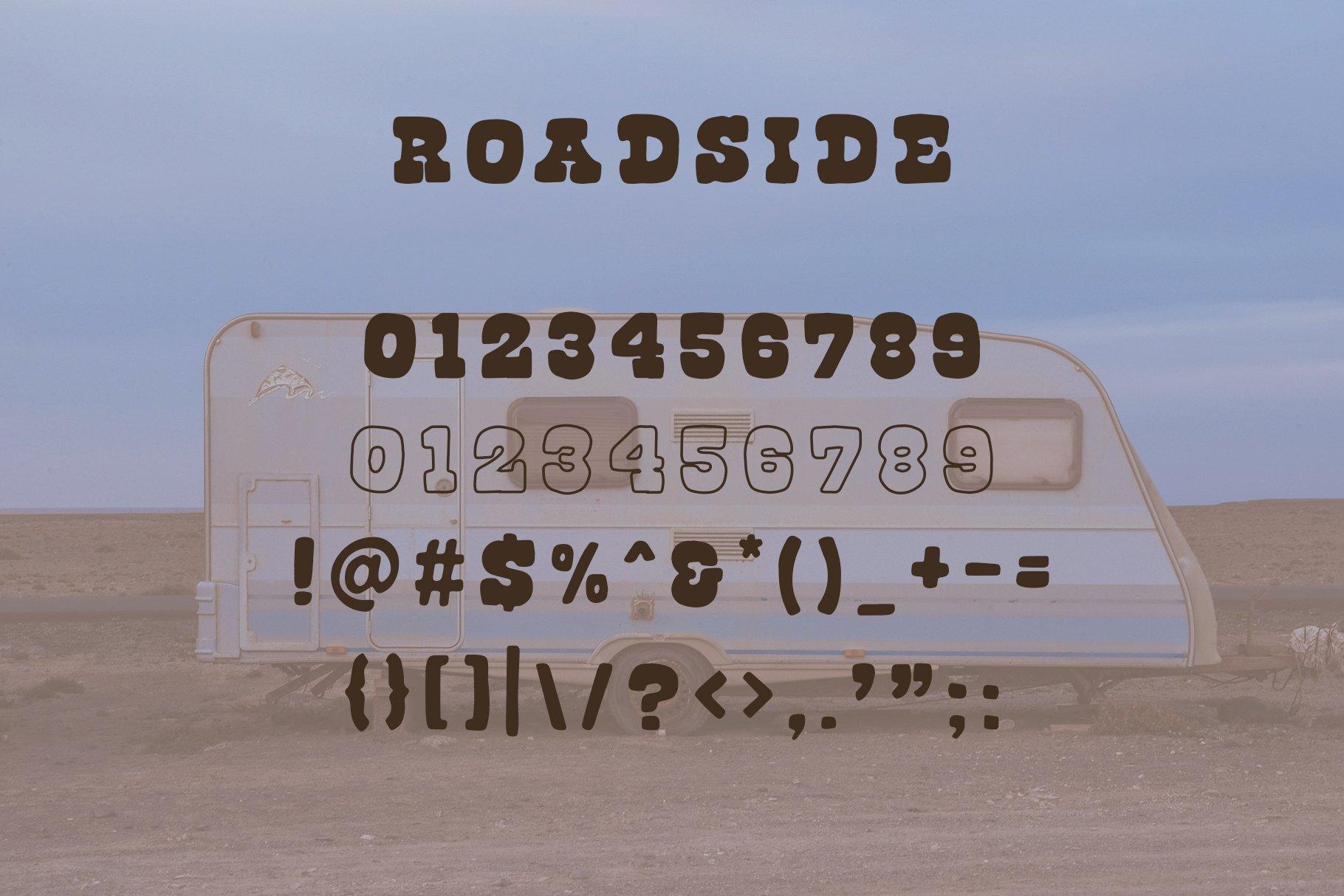Roadside | Vintage Slab Serif example image 3