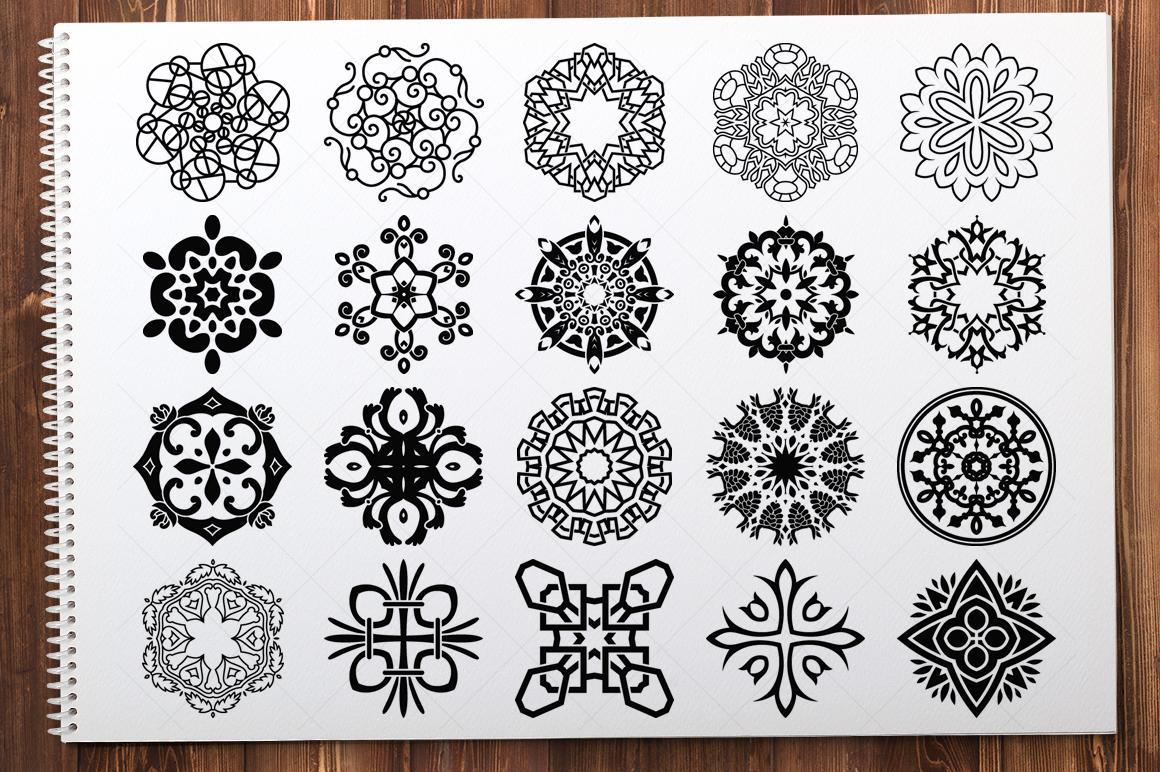 500 Vector Mandala Ornaments example image 21