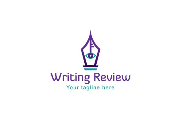 Writing Review - Stock Logo Template example image 1