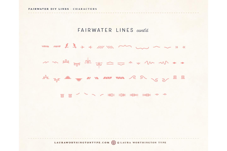 Fairwater DIY Lines example image 24