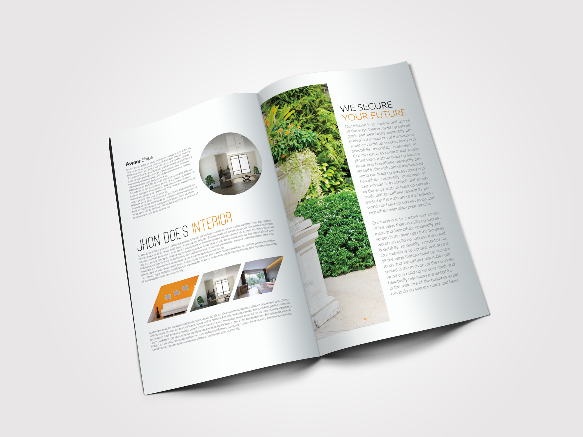 Real Estate Agency Bifold Brochures example image 3