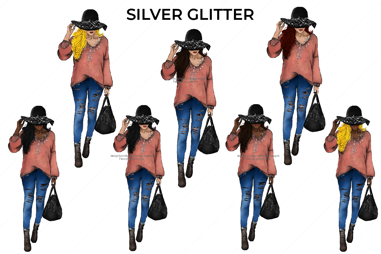 Hello Fall Fashion Girl Collection example image 4