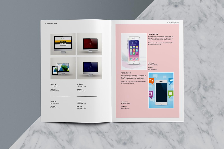 Designer Portfolio-48 Pages example image 24