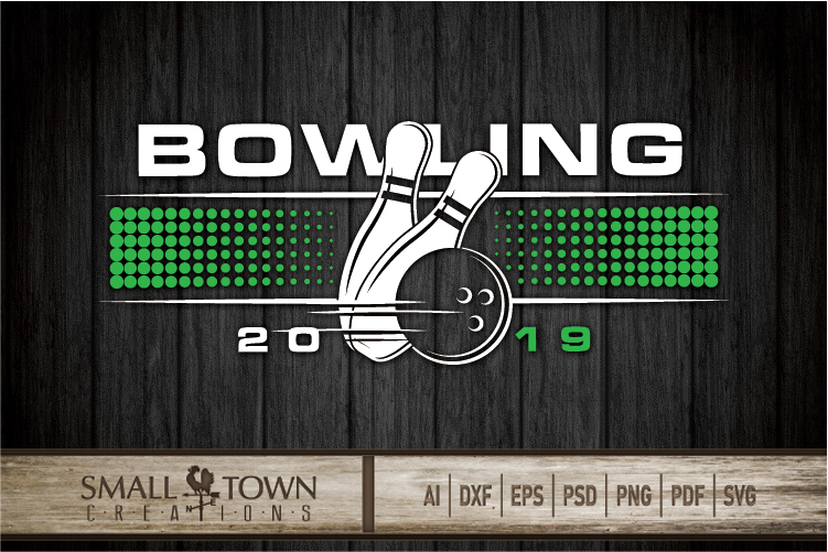 Bowling, Bowling ball, Team logo, sport, PRINT, CUT & DESIGN example image 5