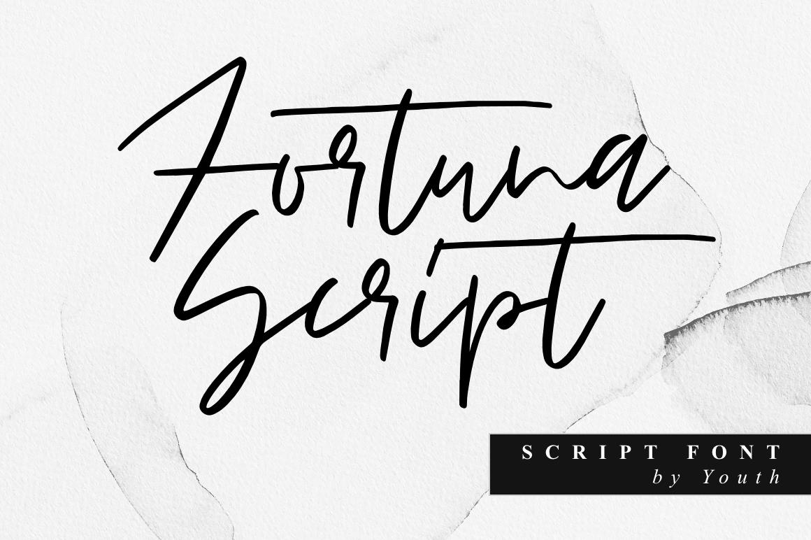 Fortuna Script example image 1