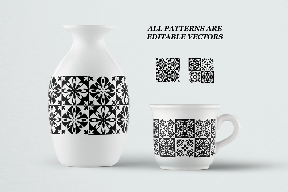 Moroccan style patterns example image 2