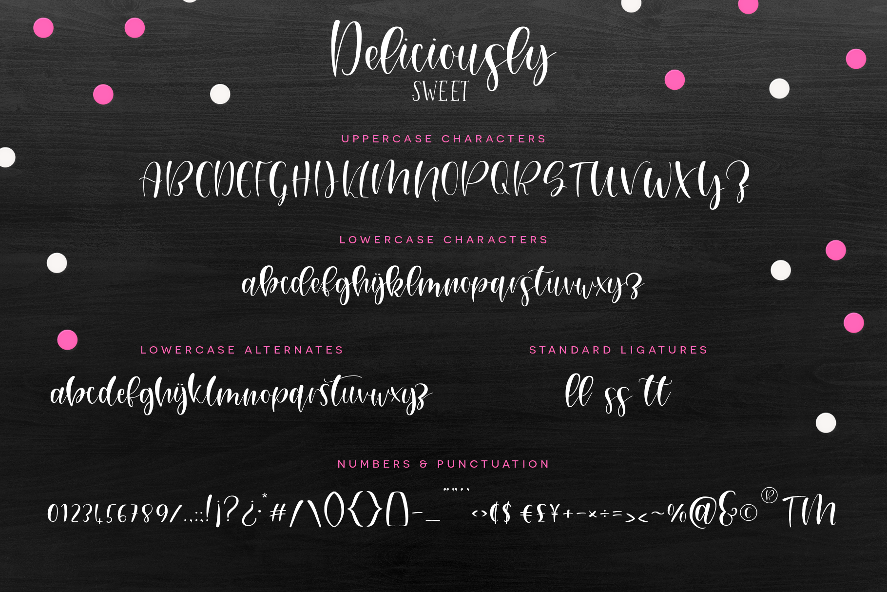 Deliciously Sweet Font Duo example image 2