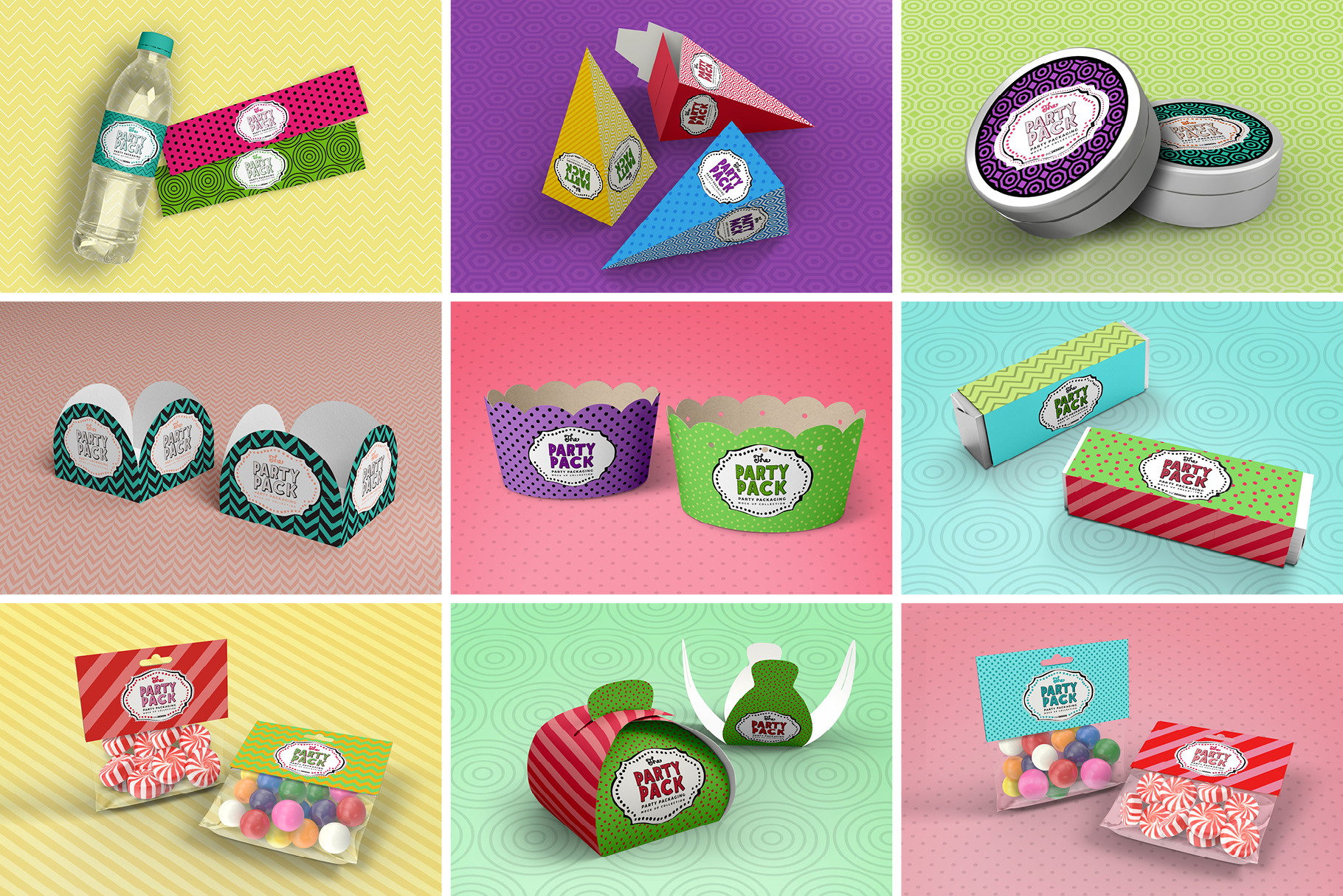The Party Pack Mockup BUNDLE example image 3