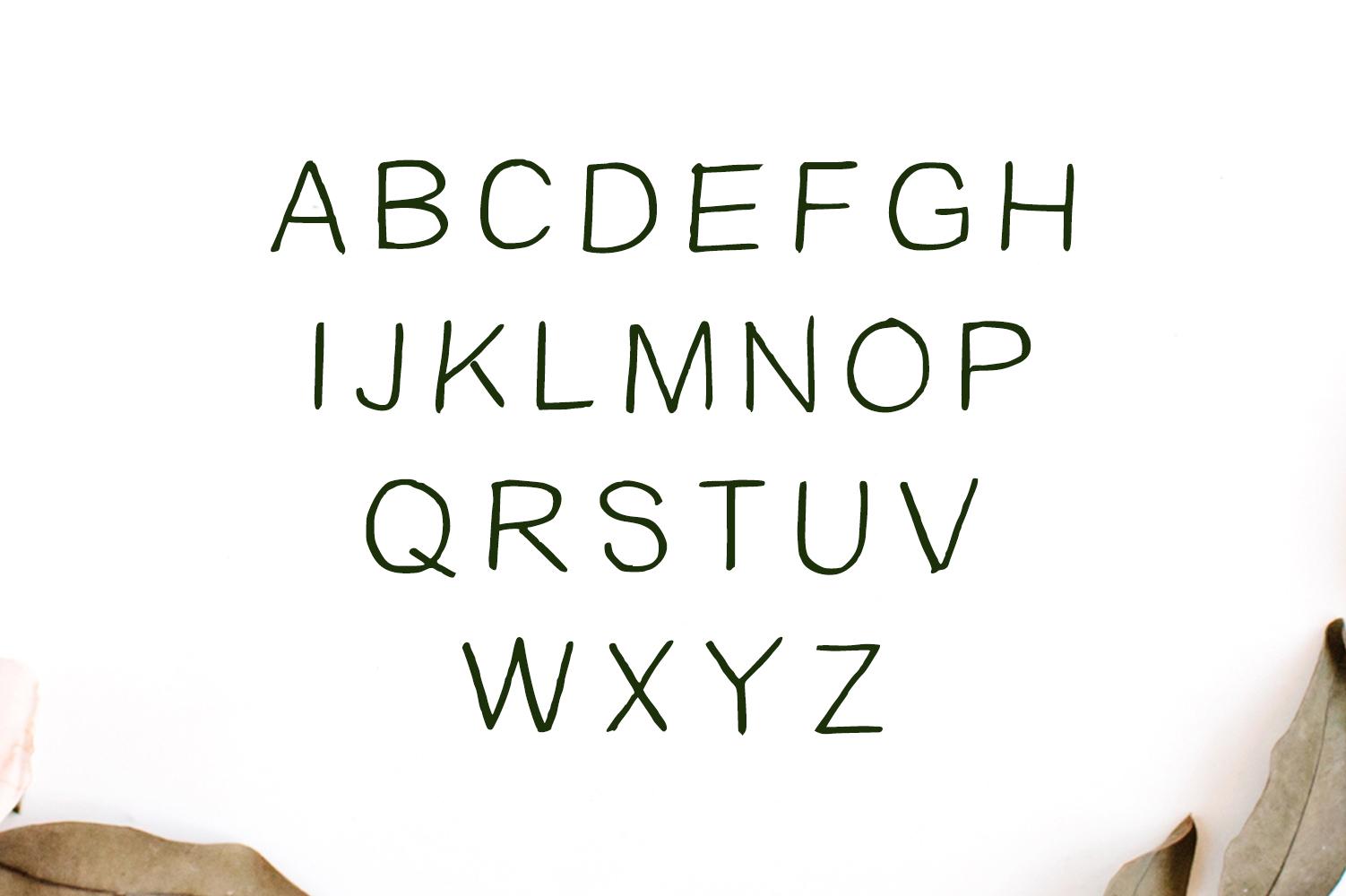 Damean Handmade Duo Font example image 5