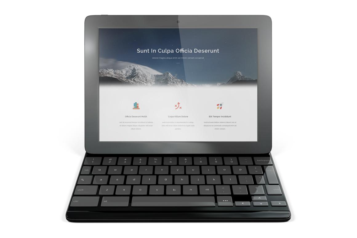 Google Pixel C Tablet Mockup example image 9
