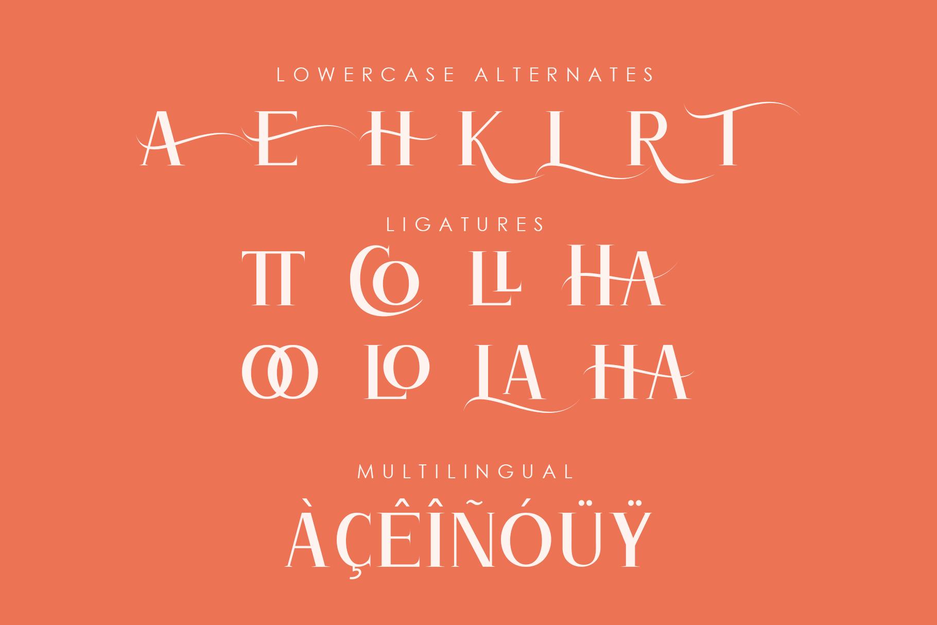 Atlane Casual Serif Font example image 9