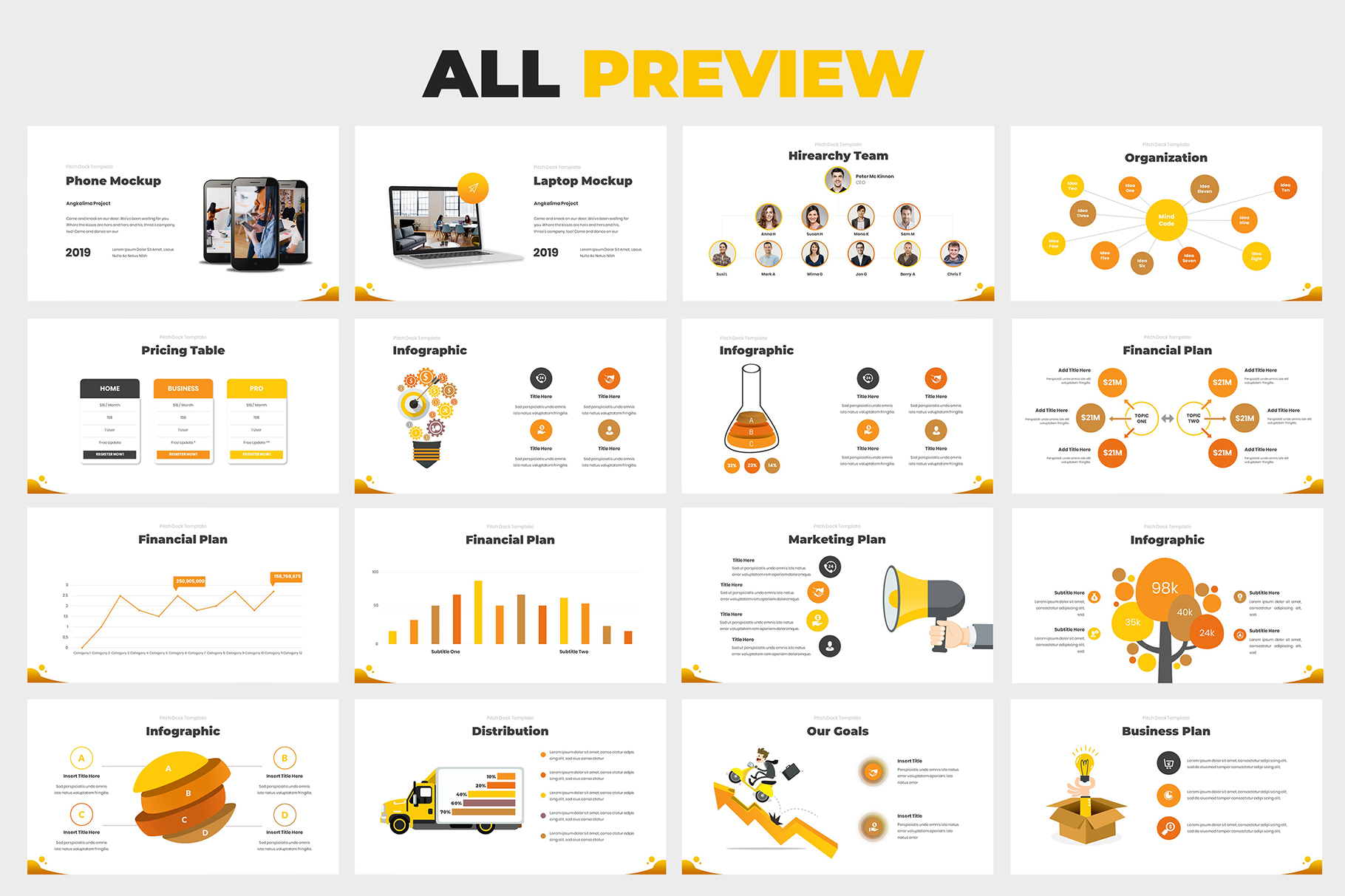 Investment Pitch Deck Google Slides example image 7