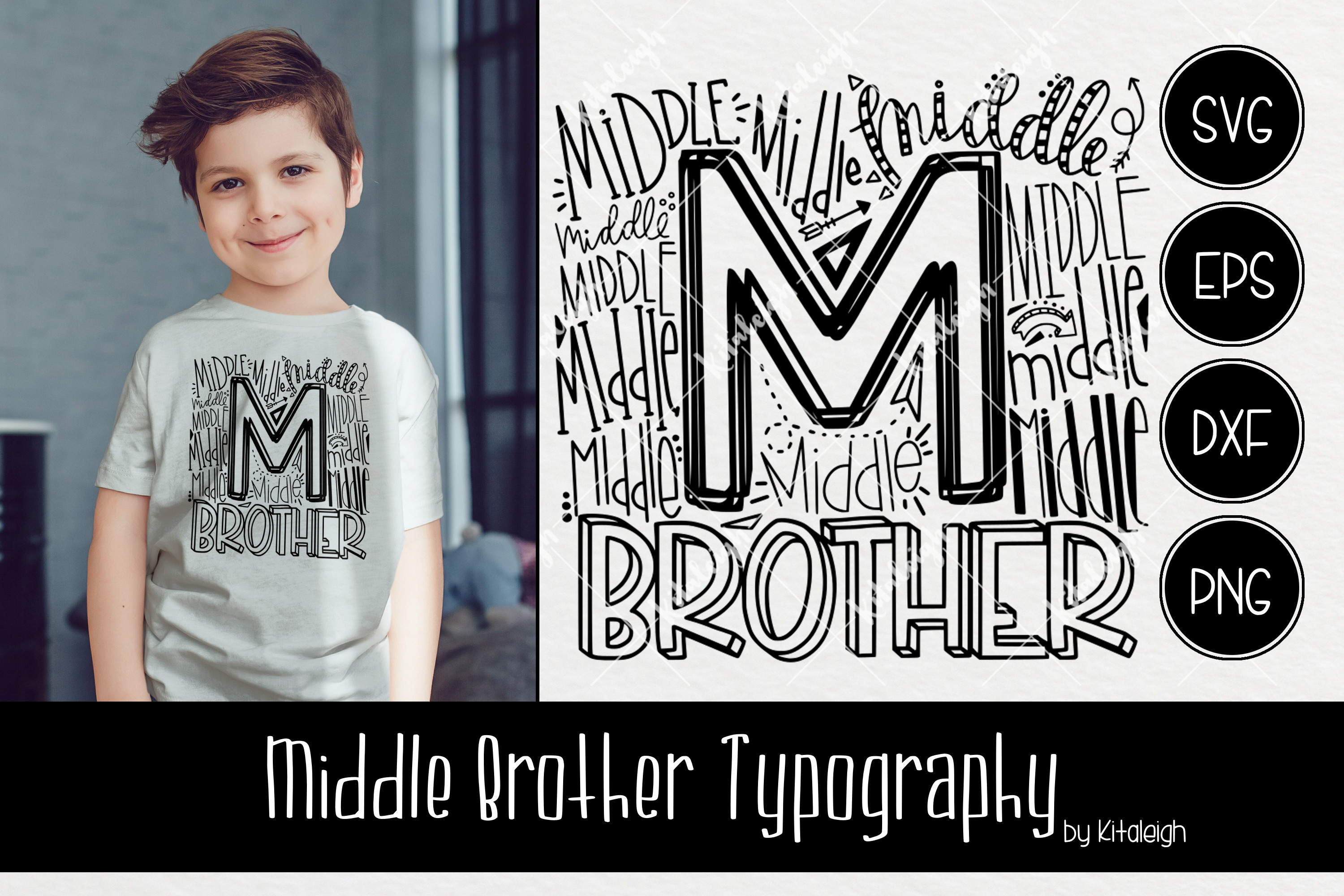 Sibling Typography Bundle example image 8