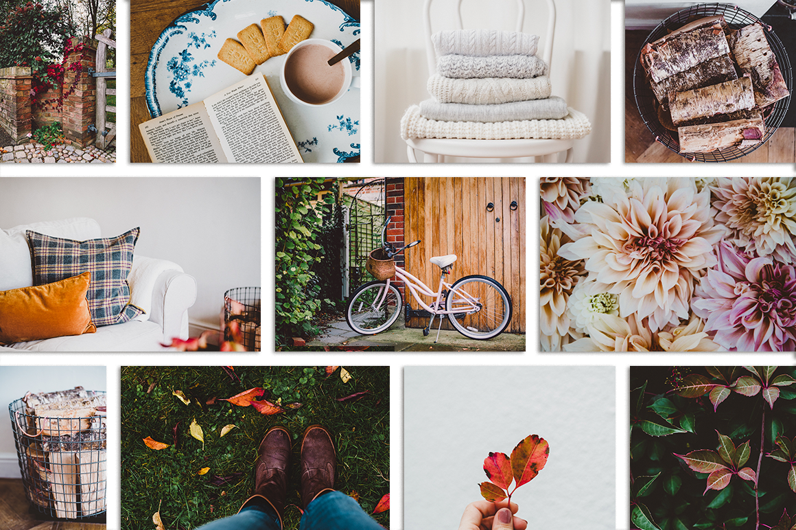 Fall-Inspired Photos & Quote Bundle example image 8