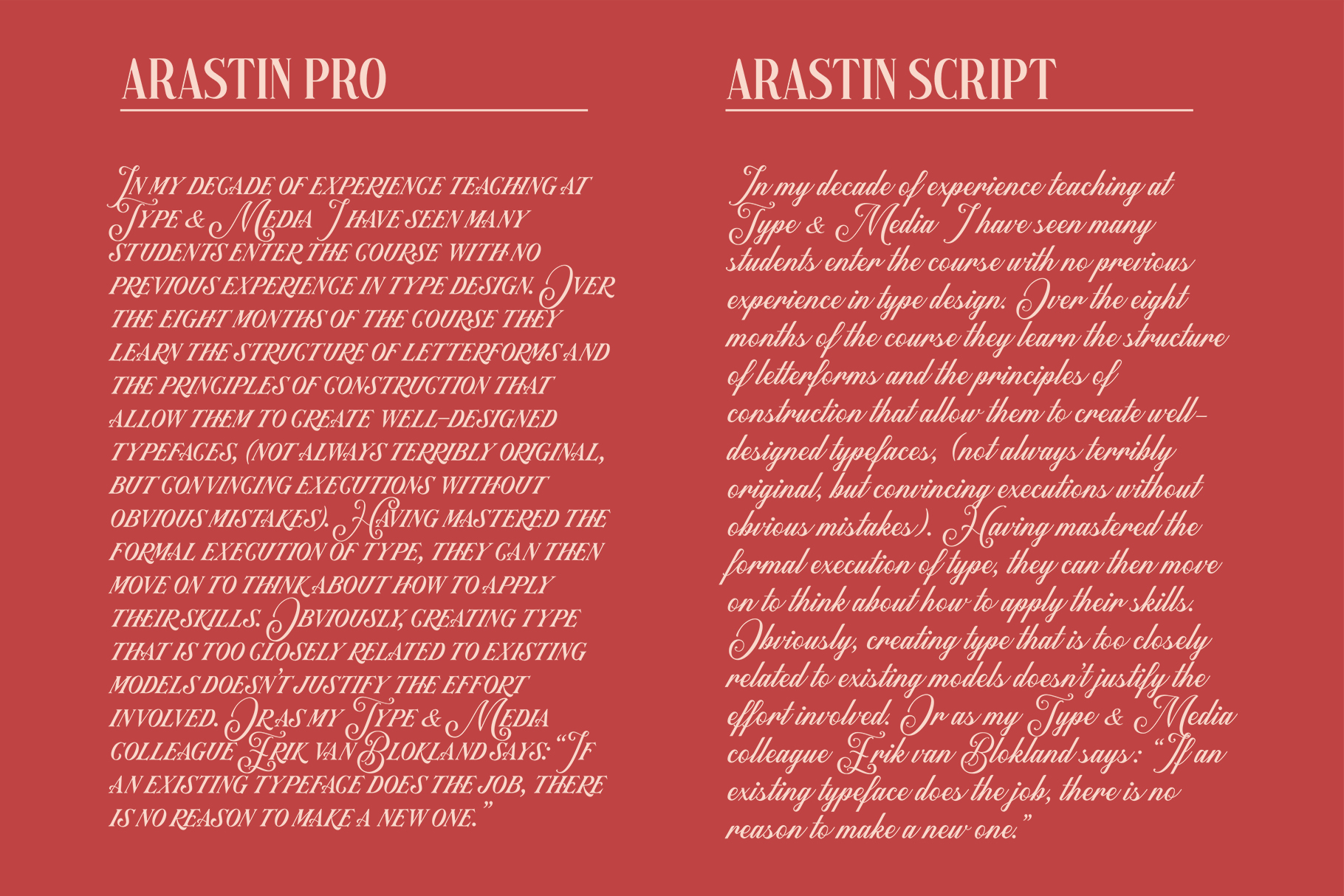 Arastin Font example image 10
