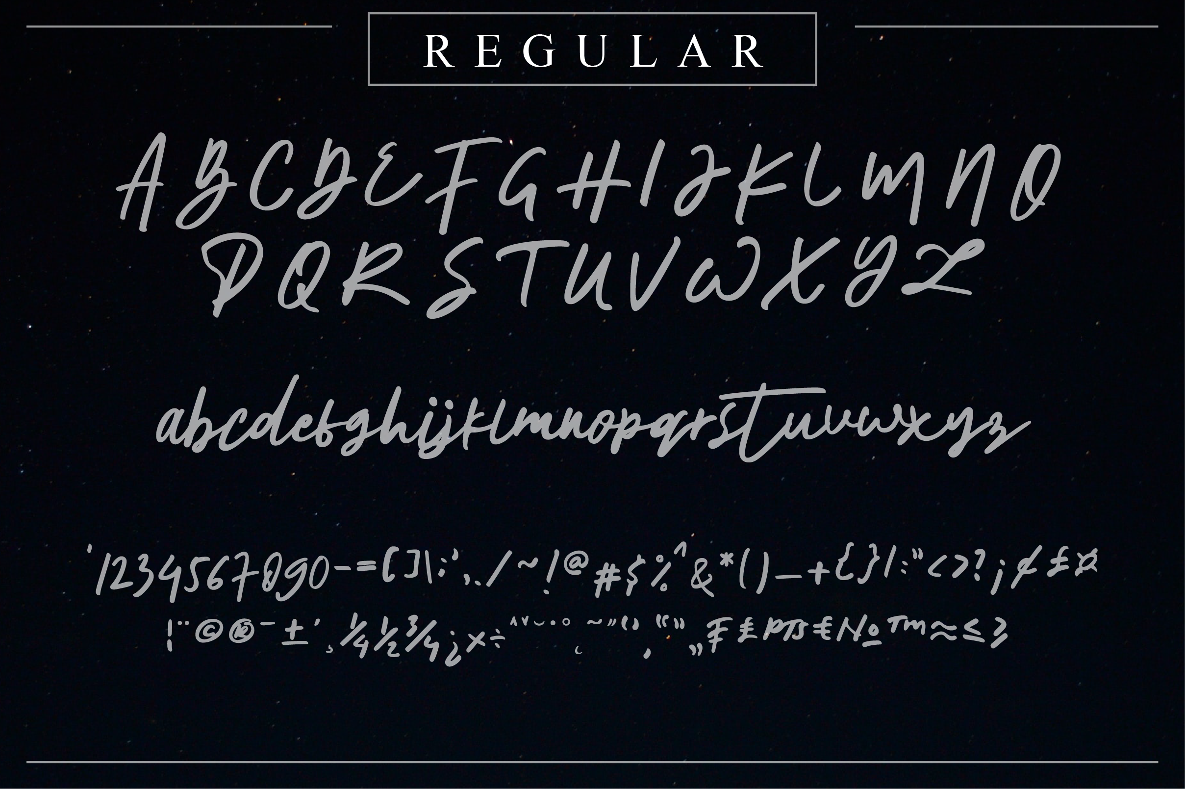 The Horizontal Signature Font example image 10