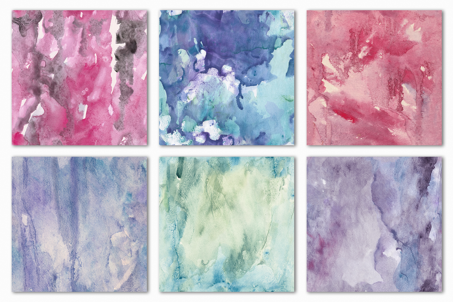 Seamless Watercolor Textures - 10 Watercolour Backgrounds example image 18
