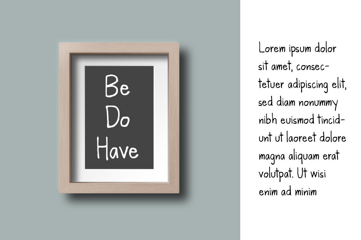 Kanda Handwriting Typeface example image 7