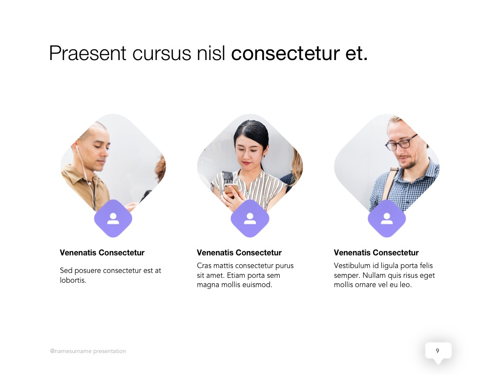 Influencer Marketing Google Slides Template example image 10