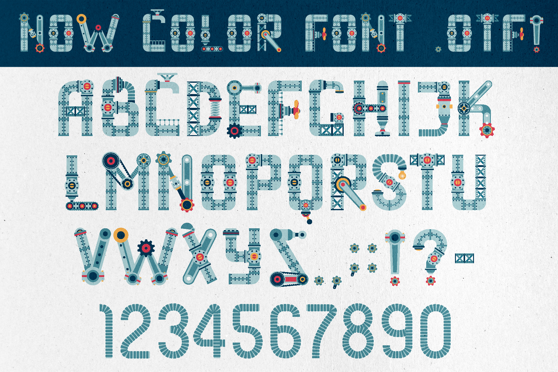 Steampunkfont example image 1