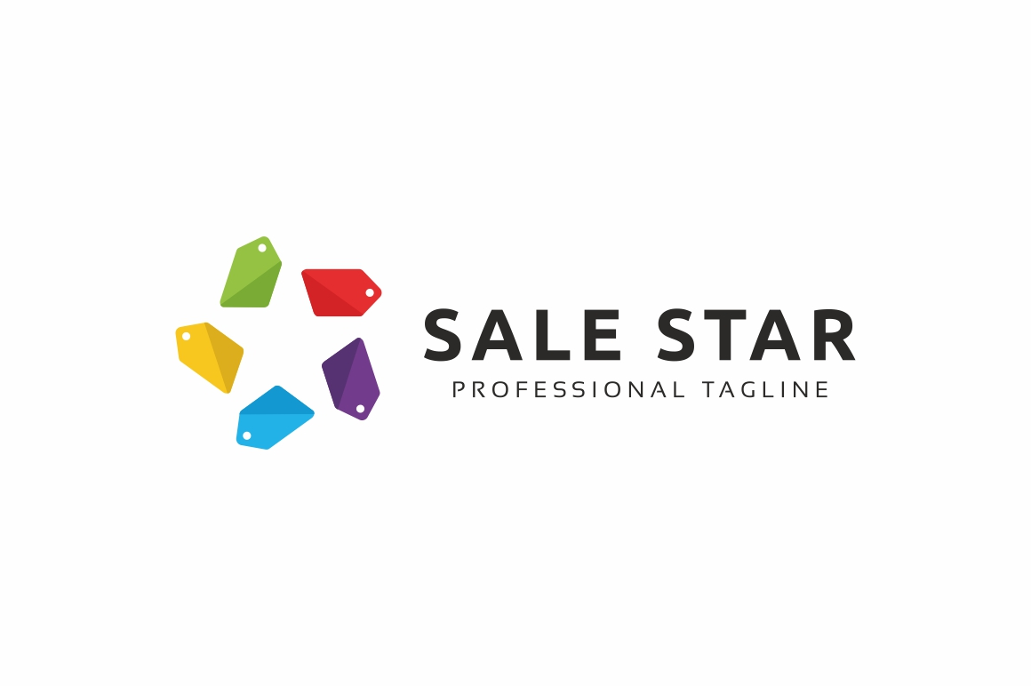 Sale Star Logo example image 3