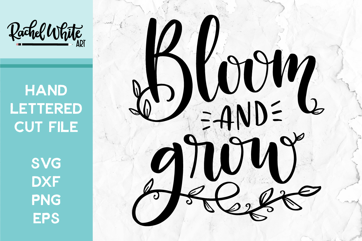 Cut File, Bloom and Grow SVG example image 1