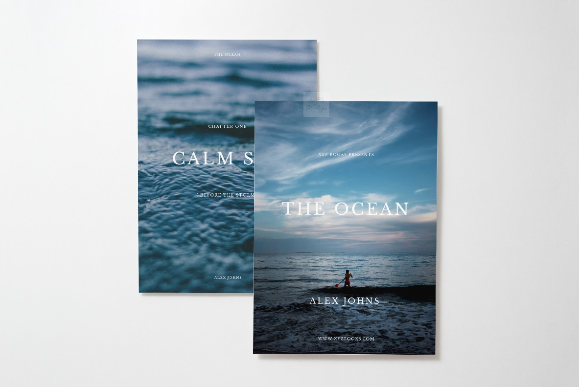 two 5x7 print mockup photo Card Mock up vertical psd flat example image 3