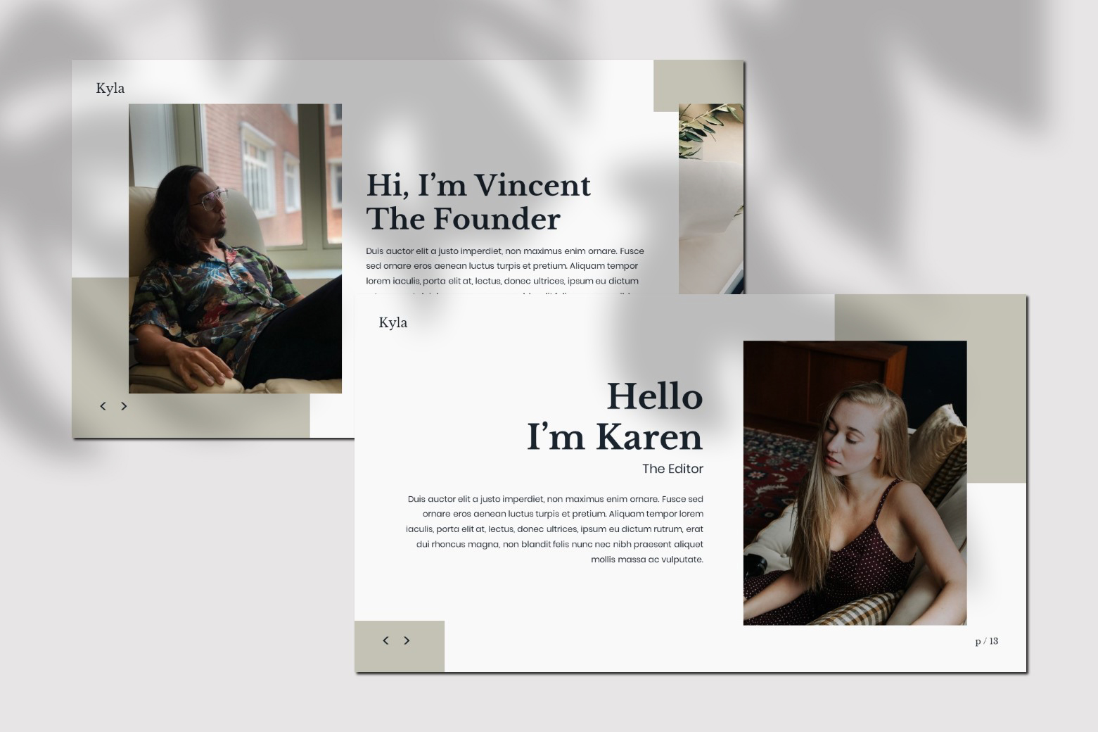 Kyla - Powerpoint Template example image 3